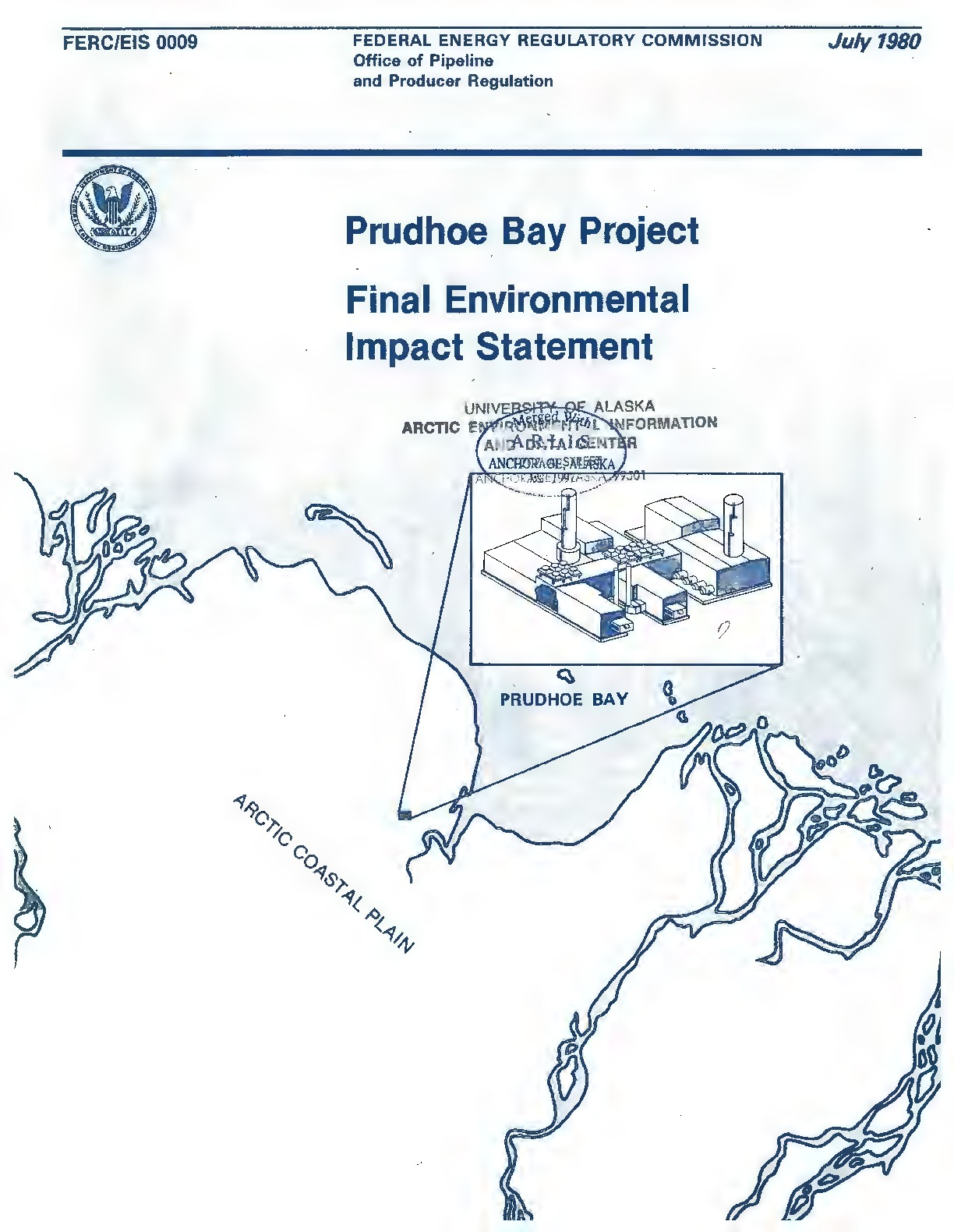 Description: Prudhoe Bay project final environmental impact