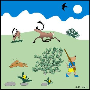 Game Animals Are A Natural Resource That Is Non Renewable