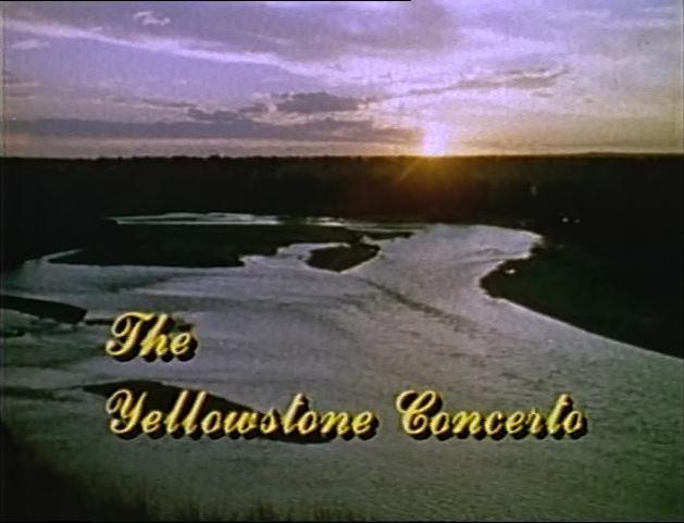 Yellowstone Concerto title screen